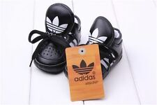 adidas schuhe baby shoes sport athletic kinder sneakers boot all black schwarz