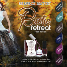 LeChat Perfect Match RUSTIC RETREAT Fall 2014 Collection Gel Polish & Lacquer