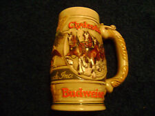 BUDWEISER BEER MUGS / STEINS (GROUP 1) - YOUR CHOICE