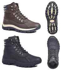 Free Shipping Kingshow Men's 0705 Winter Snow Boots Shoes Leather Waterproof