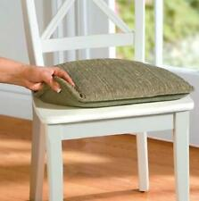 SET OF 2 Indoor DINING KITCHEN NON SLIP CHAIR CUSHION PAD 5 Color Choices