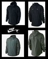 Nike Mens Checkered Flicker Hurricane Reflective Jacket SMALL, MEDIUM 596250 NWT
