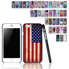"Painted Pattern PC Hard Back Skin Case Cover Shell For iPhone 6 4.7""/ Plus 5.5"""