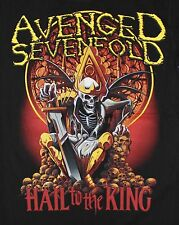 A7X AVENGED SEVENFOLD HEAVY METAL HAIL TO THE KING 3 T-shirt Man Size M,L,XL
