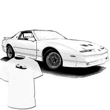 Pontiac Firebird 3rd Generation T shirt Trans Am Camaro Drawings are available