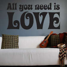 The Beatles All You Need Is Love Wall Decal