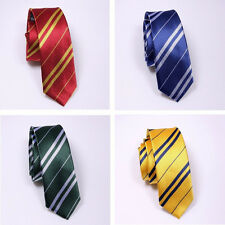 Harry Potter Gryffindor/Ravenclaw/Slytherin/Hufflepuff Tie Necktie Accessory