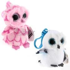 Keychain Purse Cell Phone Handbag Pendant Plush Soft Stuffed Owl Shape Toy Doll