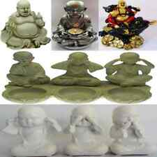 Lucky Laughing Happy Fat Buddha Buda Statue Ornament Sculpture Feng Shui Gift