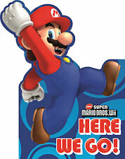 Super Mario Party Invitations with Envelopes 1 - 48pk