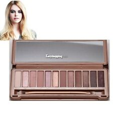 12 Colors Eye Shadow Makeup Cosmetic Nude Palette Eyeshadow Palette Set