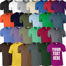 Mens Custom Personalised T-Shirt Printing Design Your Own T-shirts logo Stag Hen