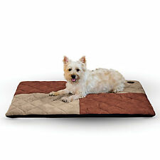 Kh Mfg Quilted Memory Tan Dream Dog Pad