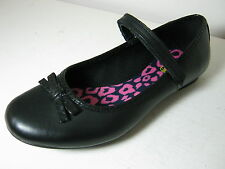 Girls Clarks Bootleg Kimberly Sky BL Black Leather Mary Jane Style School Shoes