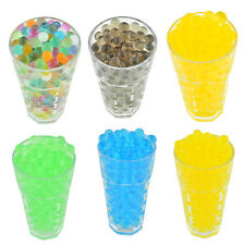 250pcs Jelly Crystal Soil Water Gel Water Beads For Vase Home Wedding Decor