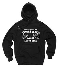 Gift For Daddy Hoodie Awesome Daddy Hooded Sweater Father's Day Gift Sweatshirt