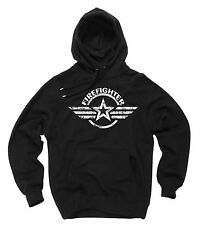 Firefighter Hoodie Gift For Firefighter Hooded Sweatshirt Sweater