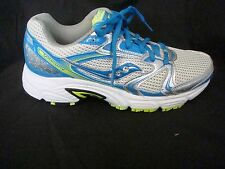 Saucony Oasis Grid 2 Women's Running Shoes Sneakers Silver Blue NEW FREE SHIP