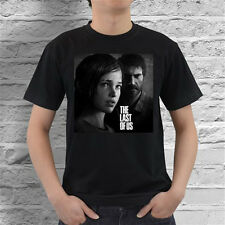 The Last Of Us Ellie and Joel PS3 Game T Shirt Free Shipping