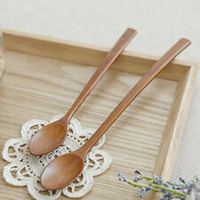 Wooden Tea Coffee Spoon Spork Lot Vintage Utensil Handmade Cooking Forks Spoons