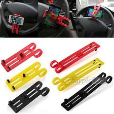 Supporto in ABS Porta MP4 Ipod Iphone GPS Navigatore per Auto Volante Universale