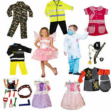 Girls Boys Dress Up Costume Childrens Kids Party Outfit Fancy Dress