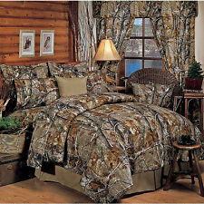 Realtree AP All Purpose Camo EZ Bed Set - Comforter - Sheets  Camouflage Bedding
