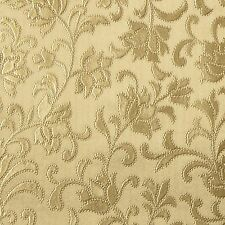 Gold Embossed Floral PVC Vinyl Wipeclean Tablecloth