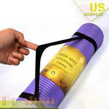 Lengthen Thicken Non-slip India Yoga Mats Anti-slip Fitness Crunches Pads 15mm