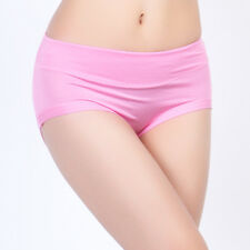 Wholesale 10PCS Soft Bamboo Fiber Underwear Womens Comfort Panties SZ US M-2XL