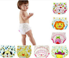 New Baby Boy Girl Infant Toilet Pee Potty Training Pants Cloth Diaper Underwear