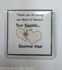 Personalised Sixpence Wedding Favour - Thank you Gift