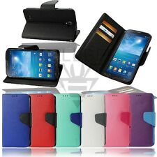 Magnetic Closure Flip Wallet Fitting Stand Case for Samsung Galaxy Light T399