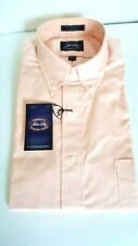VINTAGE ALLEN SOLLY MEN'S COTTON LONG SLEEVE DRESS SHIRT MADE IN USA SZ:15-32