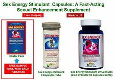 SEX ENERGY Stimulant  Capsules: A fast-acting sexual enhancement supplement
