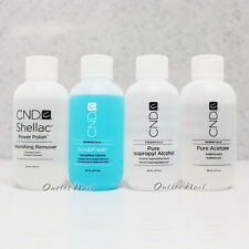 CND Essentials 2 oz/59 ml Shellac Remover,Acetone,Alcohol,ScrubFresh Scrub Fresh