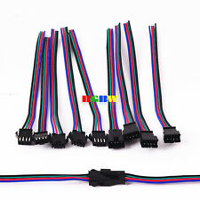 2~100Pairs 4 Pin JST Male Female Connector Cable Wire F WS2801 LPD8806 RGB Strip