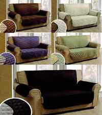 CHAIR LOVESEAT SOFA  SET FURNITURE SLIP COVER STRETCHABLE FABRIC MANY COLORS
