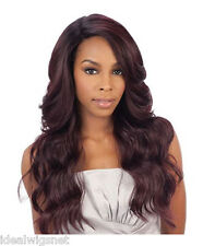 DANITY - Equal Brazilian Natural Deep Invisible L Part Lace Front Wig By SNGHair