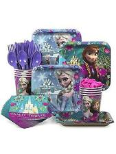 Frozen Party Kit for 8-40 children: Cups,Napkins,Plates, Cutlery