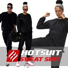 Sauna Suit Sweat Heavy Track Weight loss Exercise Black Suits Fat Gym HOTSUIT