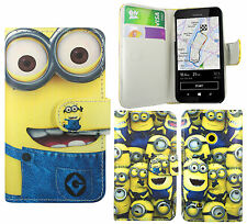 Despicable Me 2 Minion PU Leather Wallet Case Cover For Nokia Lumia 530