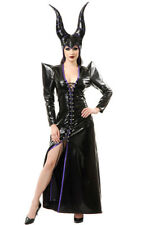 MALEFICENT SEDUCTIVE SEXY EVIL SORCERESS WITCH ADULT WOMENS HALLOWEEN COSTUME