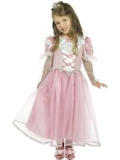 Girls Royal Princess  Costume Size S/M/L 3-9 Years Wold Book Day Fairytale Fun