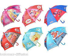 PARAPLUIE DISNEY ENFANT PLANES PRINCESSE MINNIE WINNIE MICKEY CARS GARCON FILLE