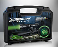WHITE LED NightSnipe CLASS - 1 Predator, Coyote Hunting Light Kit