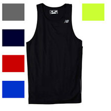 New Balance Mens TEMPO Running Singlet Gym T-Shirt dri-fit S-3XL N9138 TANK TOP