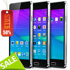 "5.5"" Touch Unlocked Dual Sim Quad Core Android 4.4 Smartphone GPS T mobile 2014"