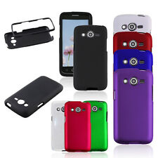 Matte Hard Rubberized Snap On Phone Cover Case for Samsung Galaxy Avant G386T