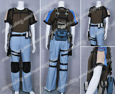 Resident Evil Chris Redfield Cosplay Costume High Quality Cotton Cool Full Set